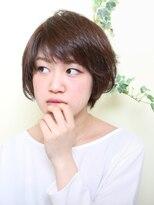 オーガニックサロン フェイス 梅田店(organic salon face)スタイルを引きしめるローライトがgood!!挑戦しやすい夏ショート