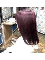 ロコマーケット 下北沢店(hair meke Deco.Tokyo)デザインカラー☆パープル