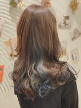 リュウオアシス(hair fix RYU Oasis)インナーブルー