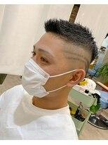 【京都 ルーナ】男らしいヘアスタイル×スキンフェード 平塚光輝