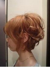 ヘアデザイン フランカ ブレンド(Hair Design Franca Blend)シルエット重視アゴラインボブ