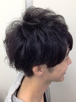 マクロヘアー(macro hair)の写真/21時迄受付◎<ビジネスマンはONもOFFもスマートに>カット+「炭酸頭皮ケア」 ヘッドスパ¥8100→¥6480