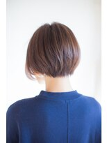 ソフトヘアカッターズ(soft HAIR CUTTERS)グレイカラーに◎大人綺麗なくびれミディ ショートボブ♪