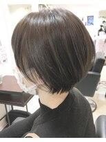 ベイジヘアークチュール(BEIGE hair couture)30代40代大人かわいい小顔ショートボブ