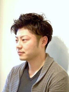 コモワイズイガワ(Como Y's IGAWA)の写真/六本木徒歩2分!!【メンズカット¥4400】「早い、上手い、キマル」忙しいビジネスマンから圧倒的な支持!!