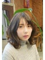 カイル (KAIL)ひし形シルエット  ネイビーカラー 【仙台美容室 KAIL】