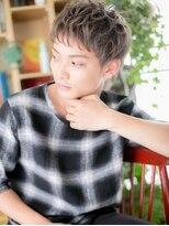 *+COVER HAIR+*…ハイトーンの束感マッシュa