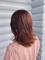 クレエ ヘアー デザイン(creer hair design)ピンクベージュ♪