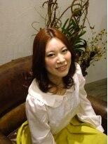 ヘア デザイン スタイリー(Hair Design stylee)グラデーションカラー(カッパー~ピンク)
