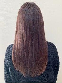 ダスティ 安曇野店(Dasty)の写真/【REZOsystem導入☆】ダメージをケアし、5年後・10年後も安心してオシャレを楽しめるツヤ髪に…♪