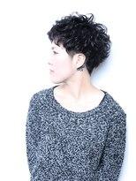 【REJOICE hair】マニッシュショート パーマ