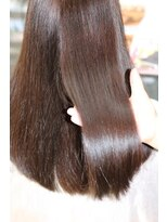 『酸熱トリートメント』髪質改善