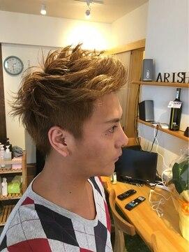 アリシアヘアー(ARISHIA hair)外国人風メンズショート☆【ARISHIA hair 那珂】