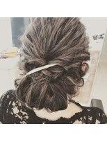 レザボア ヘアーアンドビューティー ハイブ店(reservoir Hair&Beauty Haibe)お呼ばれヘアアレンジ