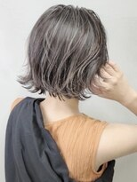 ソース ヘア アトリエ 京橋(Source hair atelier)ホワイトベージュハイライト