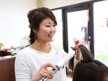 ヘア アンド スパ ミノルキ(hair and spa MInoruKI)の写真/度重なったダメージヘアは、髪の内部までしっかり浸透するフローディアトリートメントで集中ケア♪