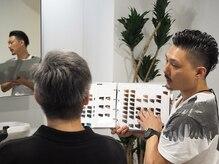 メンズ ヘアープロデュース フェード(Men's hair produce FADE)の雰囲気(お客様1人1人とじっくりと向き合いカッコ良いスタイルを実現!)