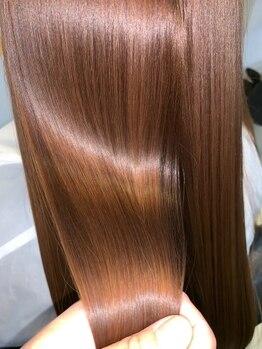 ラピス オーガニック 南一の沢店(LAPIS.sct)の写真/厳選したオーガニック素材で行う本格ケアで、芯からしなやかにまとまる素髪へ―。