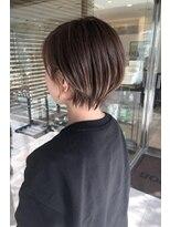 ヘアメイク シュシュ(Hair make chou chou)ショートパーマ黒髪ハイライトカラー奈良大和八木