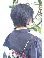 ヘアーサロン エール 原宿(hair salon ailes)(ailes原宿)style325 デザインカラー☆ネイビーブルージュ