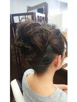 ヘアメイク フェイス(hair make faith)シンプルアップ