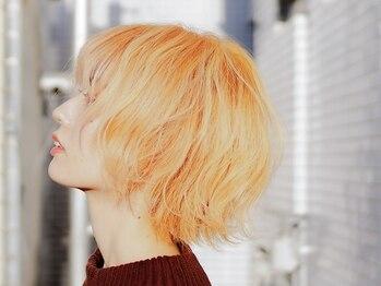 """ヘアーサロン ルクス(Hair salon Lux)の写真/なりたいカラーがあるなら""""Lux""""にお任せ♪周りから褒められる、Happyになれる""""可愛いデザイン""""が叶う!"""