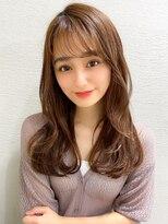 シェルハ(XELHA)アフロート斎藤 20代30代40代ロング流し前髪シースルーバング