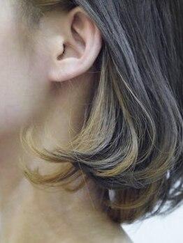 ブルーム 千葉ニュータウン(bloom)の写真/ハイトーン~暗髪までトレンドstyleは《bloom》で創る★圧倒的な似合わせ技術でなりたい自分が叶うサロン♪