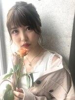 個室型美容室 グルグル 表参道店(GULGUL)顔周りの後れ毛にこだわるシンプルアレンジ☆
