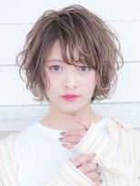 オーブ ヘアー アオヤマ 青山店(AUBE HAIR AOYAMA)外国人風*くしゅっとショートスタイル