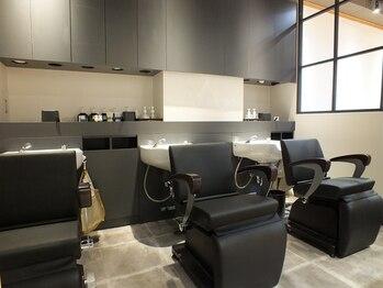 レヴィ(Levie)の写真/【OPEN1周年】個室も完備♪通常のシャンプー台でも、ゆったり、リラックスして施術を受けられるのが魅力―