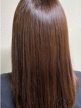 彩染(イロゾメ)の写真/[髪質改善・トリプルケア+キラ髪トリートメント]髪内部から外部まで整い、ツヤと弾力のある美しい髪へ