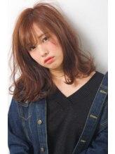 アモン ヘアケアアンドデザイン(amon Hair care&Design)甘 × 辛 ミディスタイル パーソナルカラー スプリング