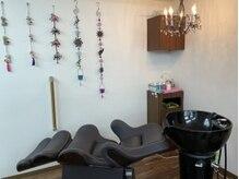 理容室 笑福の雰囲気(◆フルフラットになるシャンプー台◆)