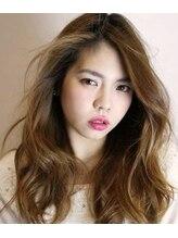 アトリエヘア マルク(atelier hair MALK)外国人風デザインカラー