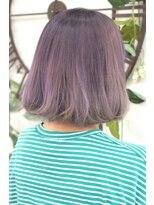 ヘアーサロン エール 原宿(hair salon ailes)(ailes 原宿)style367 デザインカラー☆アメジストグレージュ