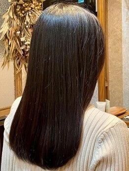 ピッツ 海浜幕張(Pits)の写真/リピ-タ-続出!TOKIOLIMITEDを主成分にした髪質改善トリートメントで、感動の仕上がり[海浜幕張/髪質改善]