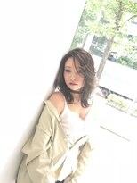 ブレス ヘアアンドスパ 湘南台(bless hair spa)レイヤーミディ