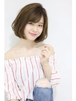 サンク ドリームプラザ店(CINQ)【CINQ】大柳 大人可愛いフェミニンボブ