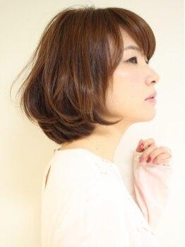 サイズ アヴェダ 町田モディ店(XXXY'S AVEDA)の写真/本物志向の女性の方にお勧め♪AVEDAのグレイカラーなら髪&肌は安心!あなたに合わせたカラートーンを!