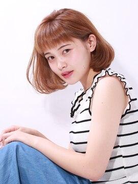 ブラン(Blanc)☆忙しい女性オススメ☆時短ボブ×透明感アイスパール