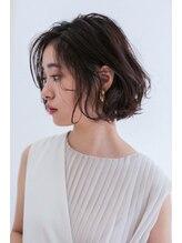 シェノン 武庫之荘(CHAINON)イメチェン×大人前髪×くびれマロンベージュ/Aラインボブ