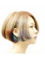 デコヘアー(DECO HAIR)クラデーションカラーボブ