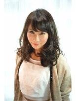 ルーチェ ヘアーデザイン(Luce Hair design)☆Luce Hair design☆M3Dカラートリートメント+コテ巻き仕上げ
