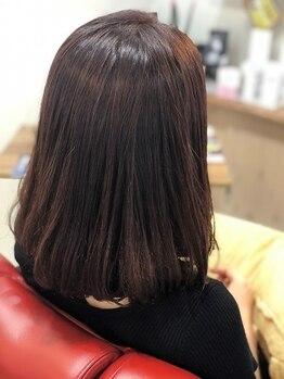 ヘアーメイク プラス(Hair Make Pluss)の写真/プチプラでで艶髪を手に入れて…♪≪平日の朝限定クーポン★カット+ルーチェントプレミアムカラー8500円≫