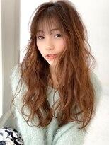 アグ ヘアー ジゼル 花巻店(Agu hair gisele)《Agu hair》色っぽゆるふわニュアンスウェーブ