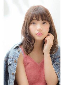 ミンクス ギンザ(MINX ginza)【MINX 蛭田】大人可愛い★ナチュラルミディウェーブ