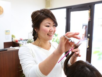 """ヘア アンド スパ ミノルキ(hair and spa MInoruKI)の写真/施術にムラが出ない!お客様の意志を汲み取り易い!""""貴方の為に""""全力で素敵なヘアスタイルをお創りします♪"""