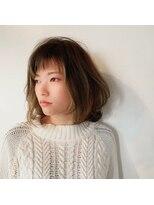 ヘアーサロン オーツー(HAIR SALON O+O)顔前デザインカラーがカッコ可愛いミディ