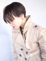 グリット ヘアプラスフォト(grit HAIR+PHOTO)【grit.】YOHEI WORKS (ハンサムショート)